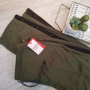 NEW! Hunter Tapered Side Snap Track Pants